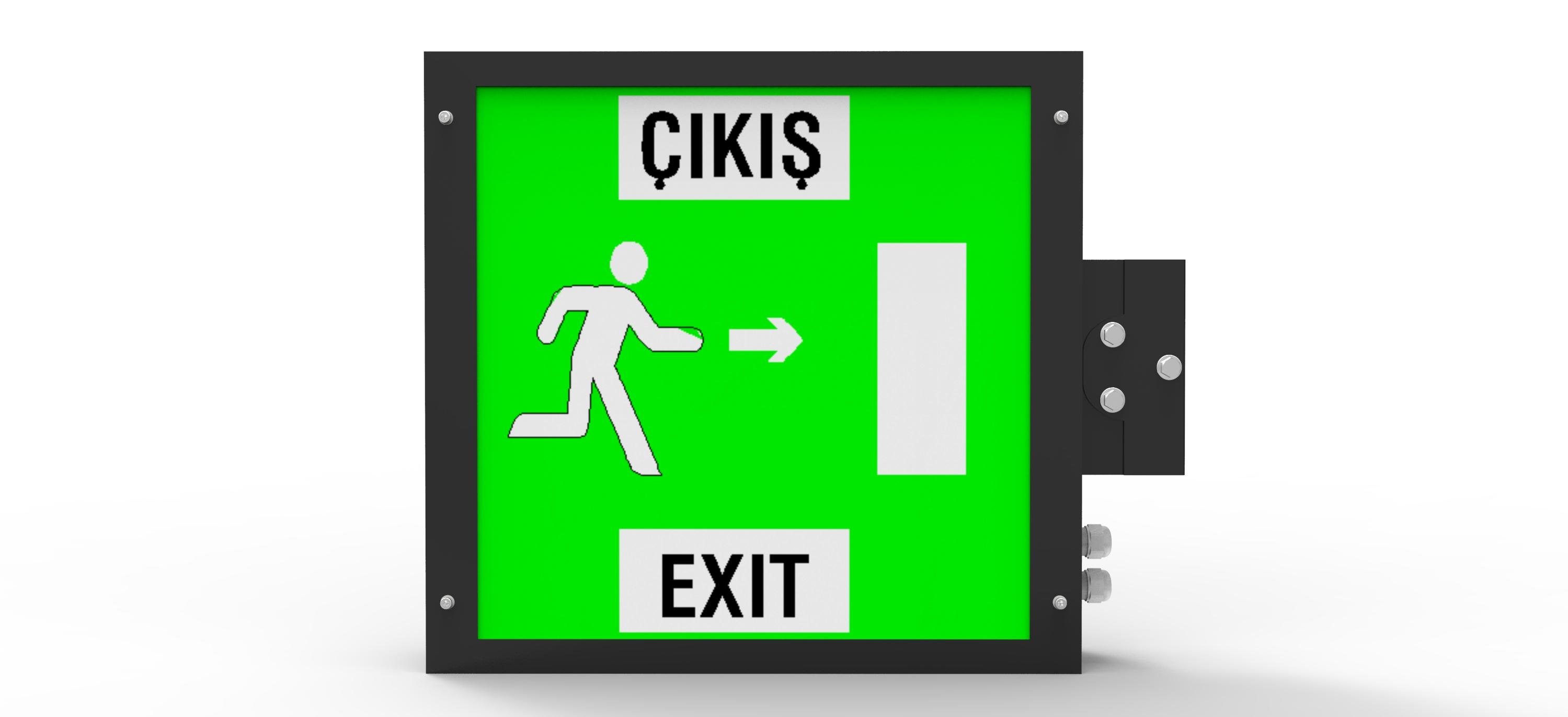 Acil Çıkış-Exit Armatürü
